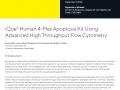 [어플리케이션노트] iQue®  Human 4-Plex Apoptosis Kit Using Advanced High Throughput Flow Cytometry